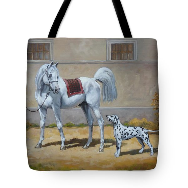 Two Buddies Tote Bag