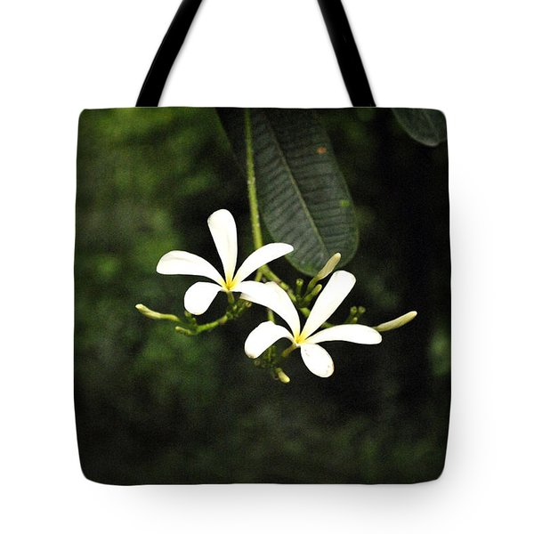 Two Flowers Tote Bag by Sumit Mehndiratta