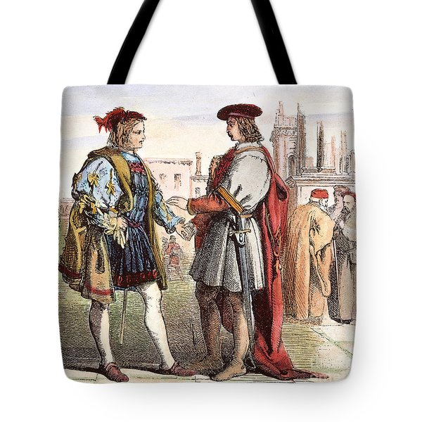 Two Gentlemen Of Verona Tote Bag by Granger