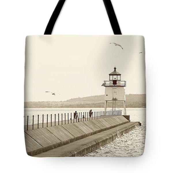 Two Harbors Tote Bag