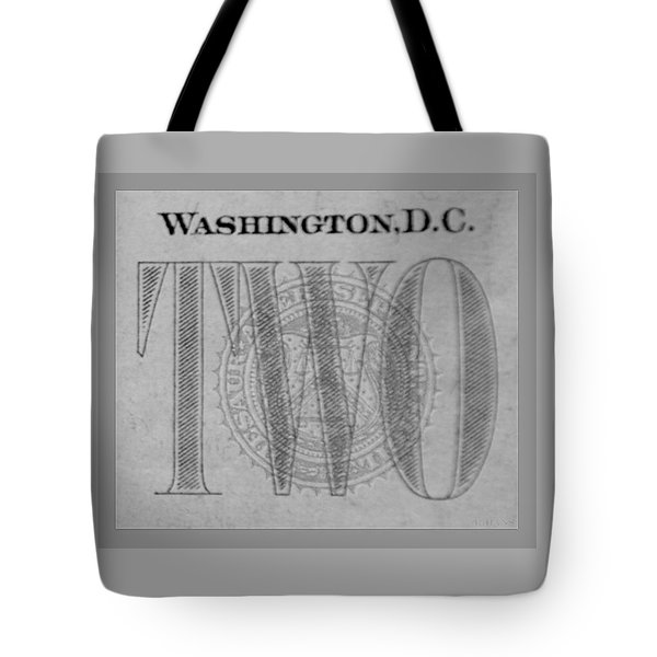 Two In Grey Tote Bag by Rob Hans