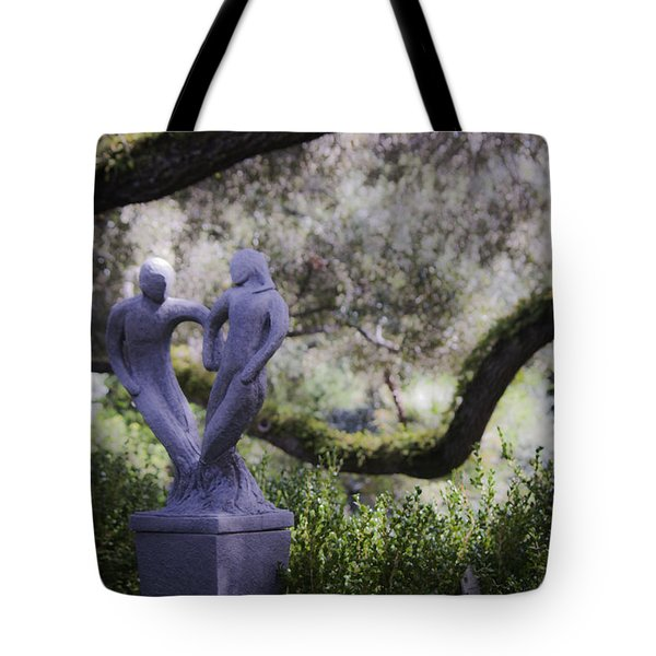 Two To Tango Tote Bag by Teresa Mucha