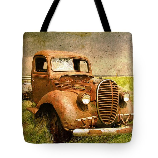 Two Ton Truck Tote Bag by Alyce Taylor