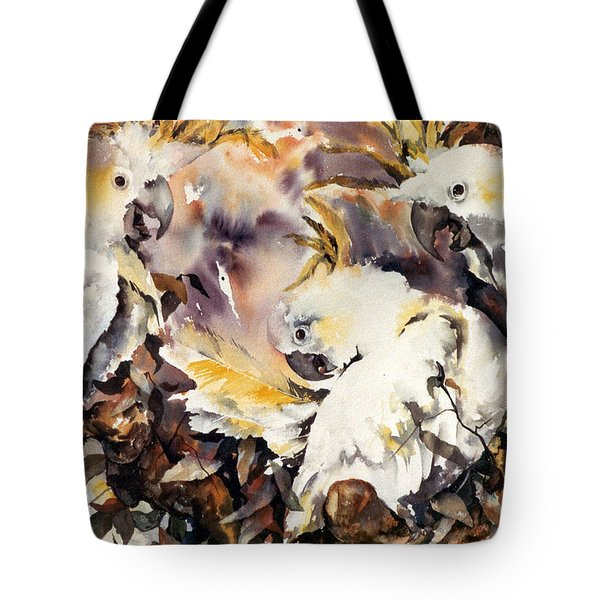 Two's Company Tote Bag by Rae Andrews