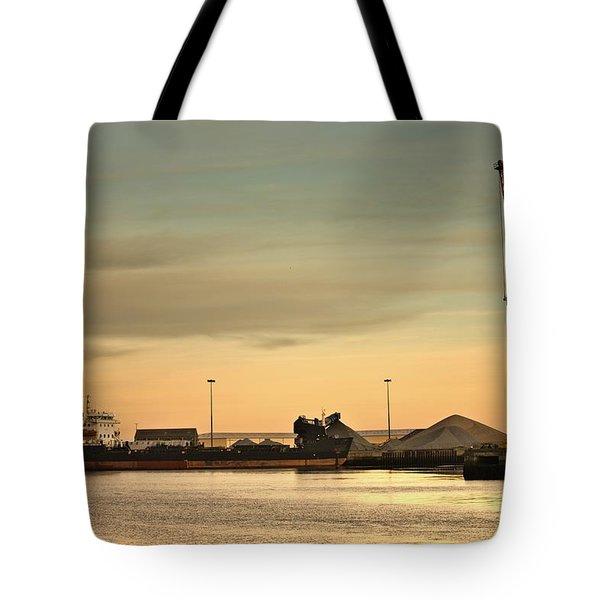 Tyne And Wear, Sunderland, England Tote Bag by John Short