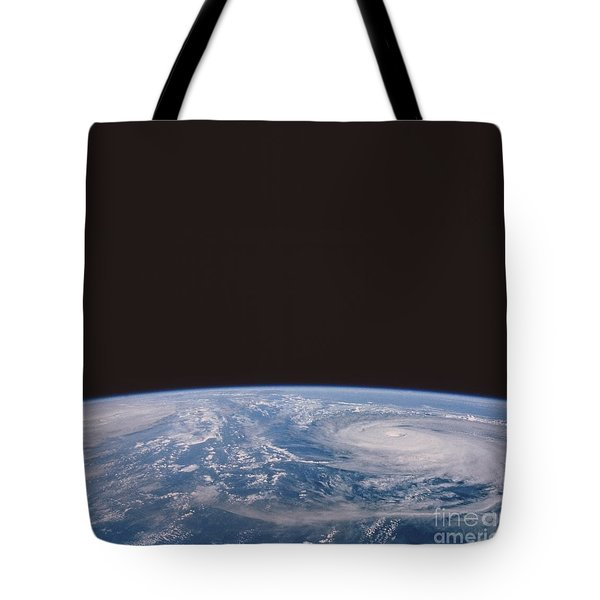 Typhoons Odessa And Pat, Seen Tote Bag by NASA / Science Source