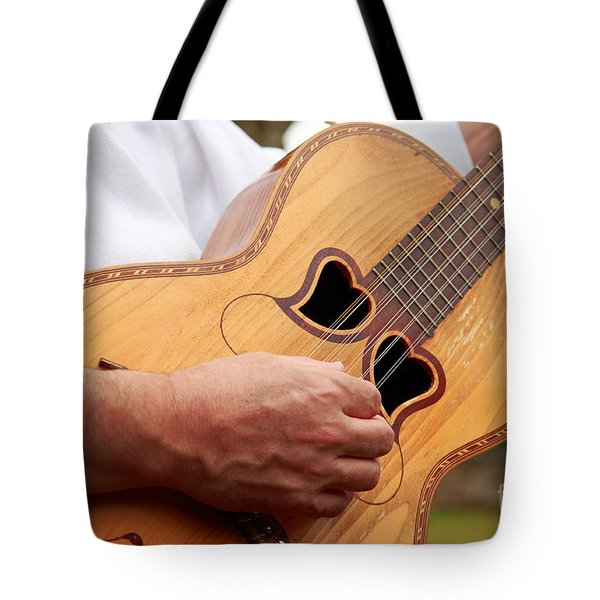 Typical Azores Guitar Tote Bag by Gaspar Avila