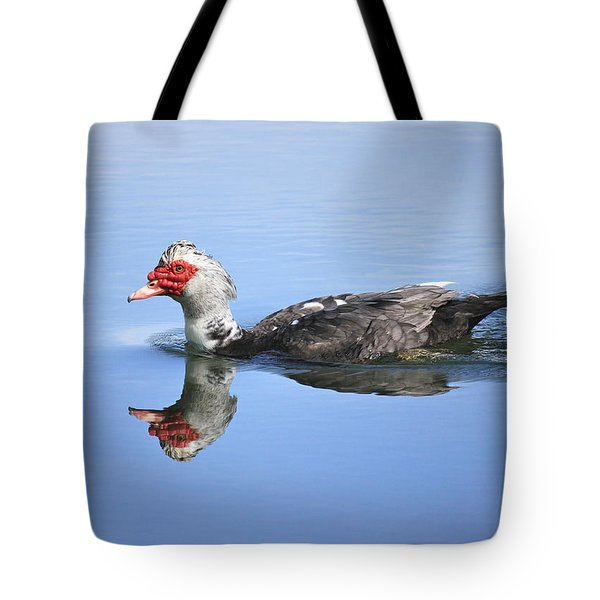 Tote Bag featuring the photograph Ugly Duckling by Penny Meyers
