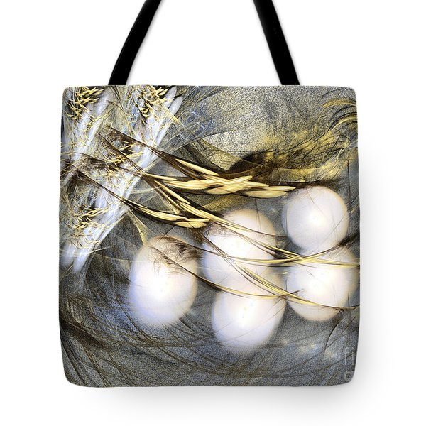 Ultima Thule - Abstract Art Tote Bag
