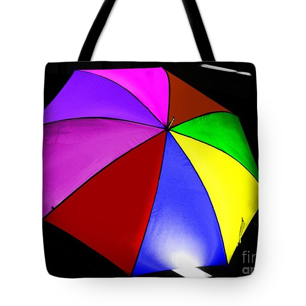 Tote Bag featuring the photograph Umbrella by Blair Stuart