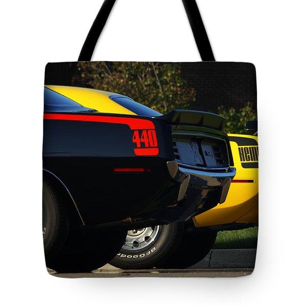 Unbeatable Dynamic Duo Tote Bag by Gordon Dean II