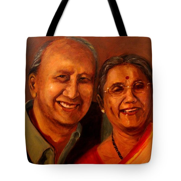 Uncle And Aunt Tote Bag