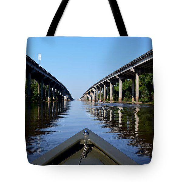 Under The Interstate Tote Bag