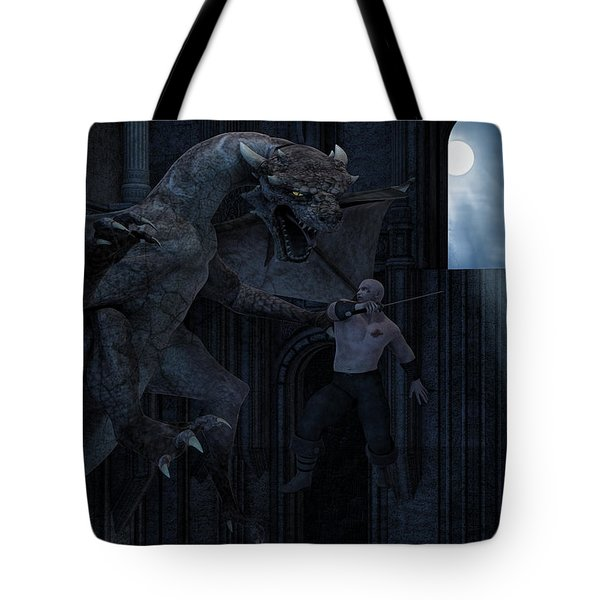 Under The Moonlight Tote Bag by Lourry Legarde