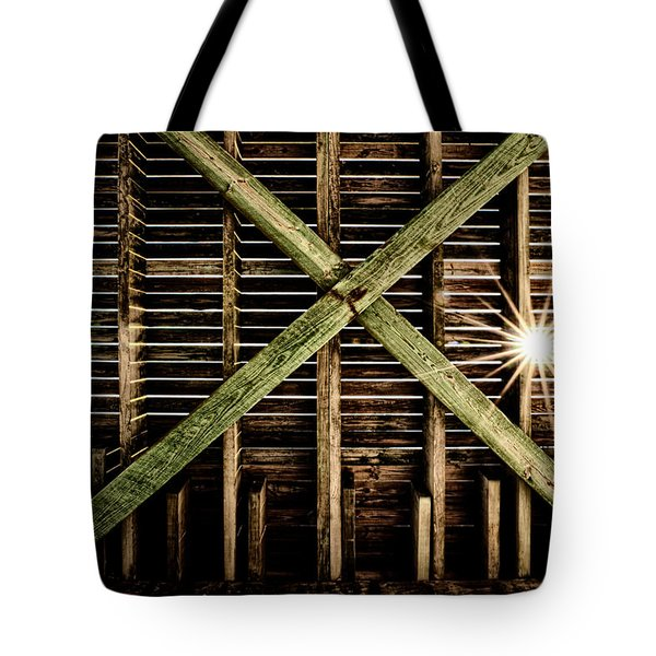 Under The Pier Tote Bag by Christopher Holmes