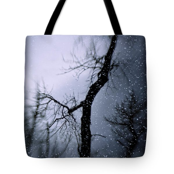 Under The Snow Tote Bag by Diane Dugas