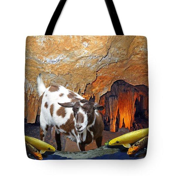 Underground Swim Tote Bag