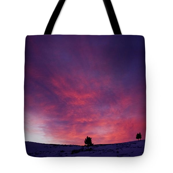 Tote Bag featuring the photograph Undine Sunset by J L Woody Wooden