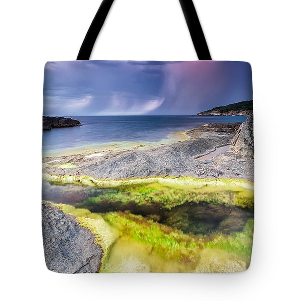 Unexpected Storm Tote Bag by Evgeni Dinev