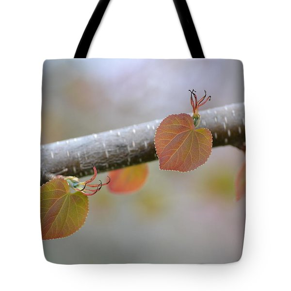 Tote Bag featuring the photograph Unfurling Buds In The Heart Of Spring by JD Grimes