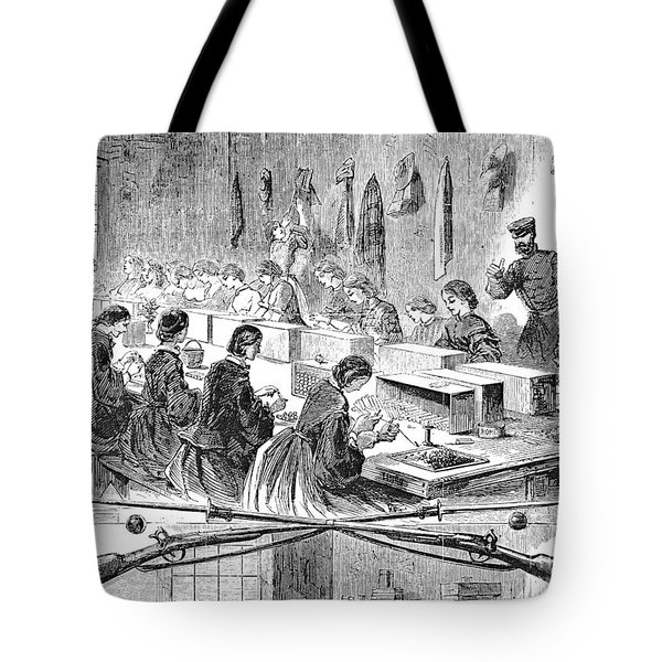 Union Arsenal, 1861 Tote Bag by Granger