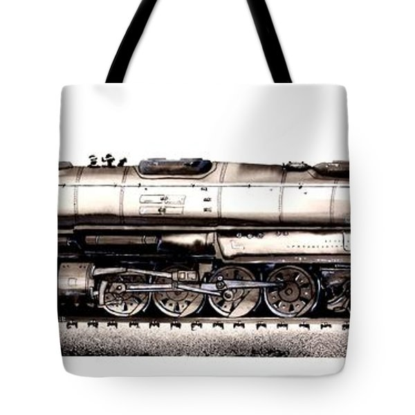 Union Pacific 4-8-8-4 Steam Engine Big Boy 4005 Tote Bag