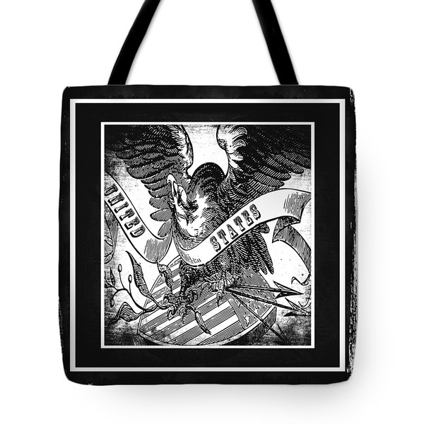 United States Bw Tote Bag by Angelina Vick