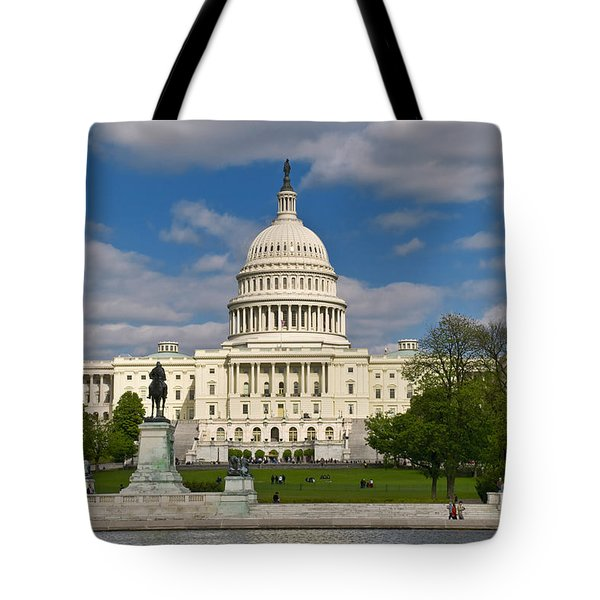 Tote Bag featuring the photograph United States Capitol by Jim Moore