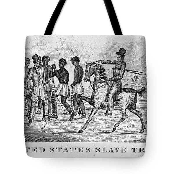 United States Slave Trade Tote Bag by Photo Researchers