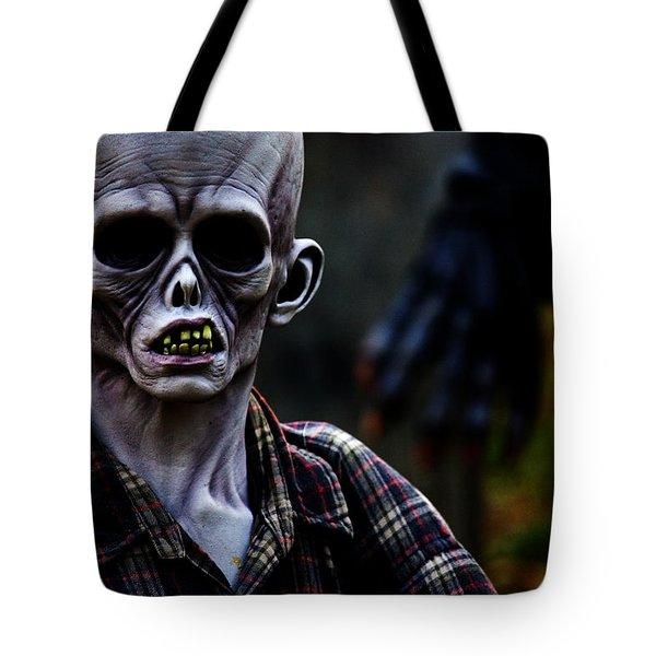 Unknown Tote Bag by Karol Livote