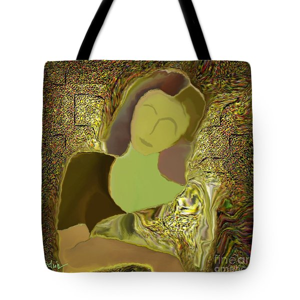 Untitled 185 Tote Bag by Nedunseralathan R