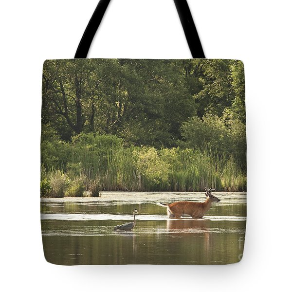 Unusual Pair  Tote Bag by Jeannette Hunt