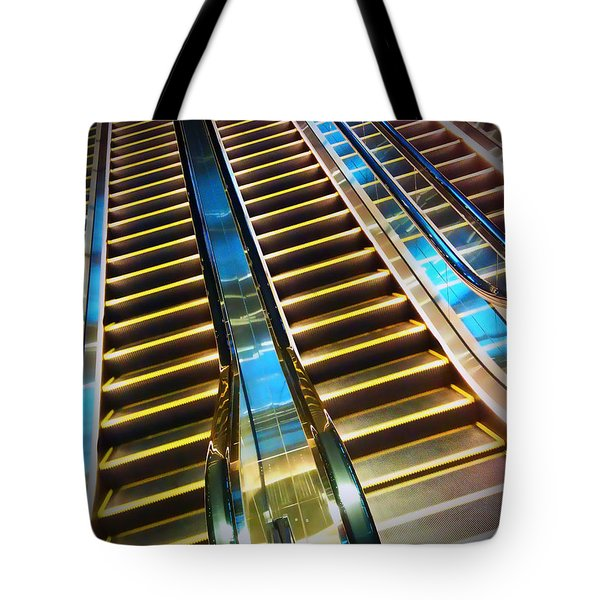Up And Down Tote Bag by Eena Bo
