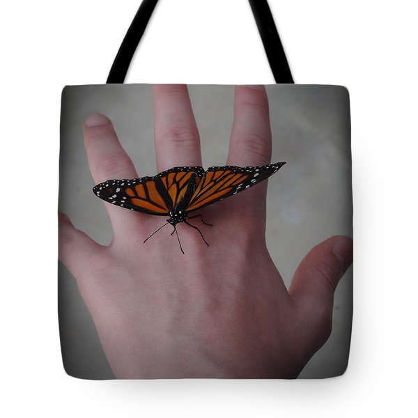 Upon My Hand Tote Bag by Julia Wilcox