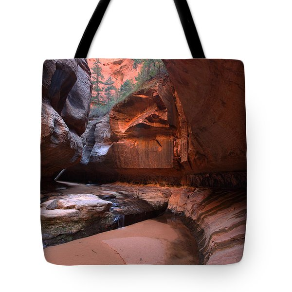 Upper Subway Tote Bag