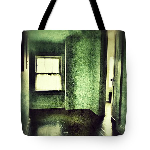 Upstairs Hallway In Old House Tote Bag by Jill Battaglia