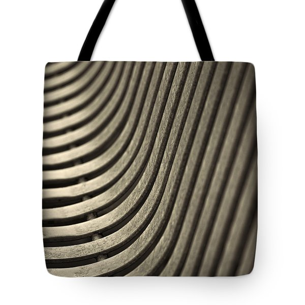 Upward Curve. Tote Bag by Clare Bambers