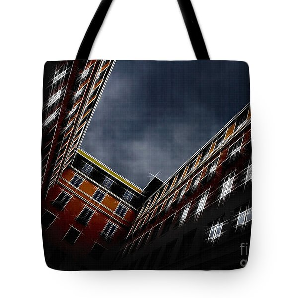 Urban Drawing Tote Bag by Hannes Cmarits