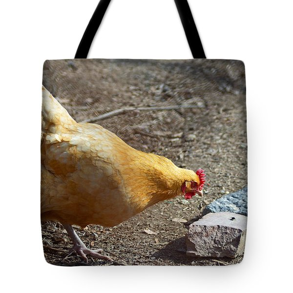 Urban Hen Tote Bag by Lisa Phillips