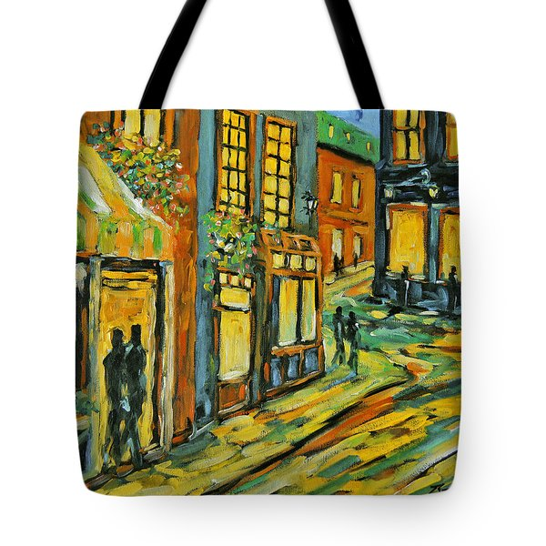 Urban Lights By Prankearts Tote Bag