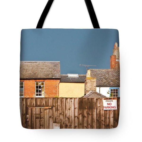 Urban Scene Tote Bag by Tom Gowanlock