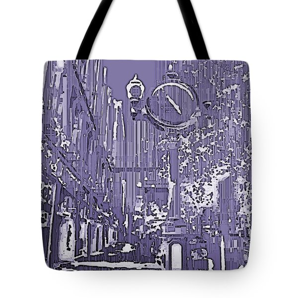 Urban Timepiece Tote Bag by Tim Allen