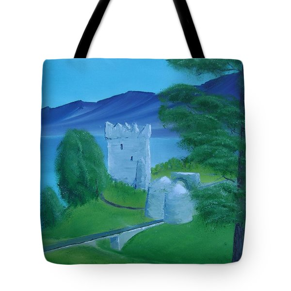 Urquhart Castle Tote Bag