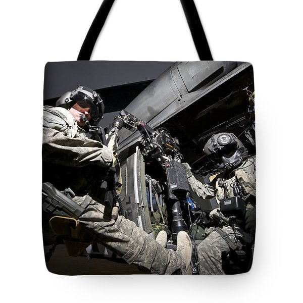U.s. Air Force Crew Strapped Tote Bag by Terry Moore