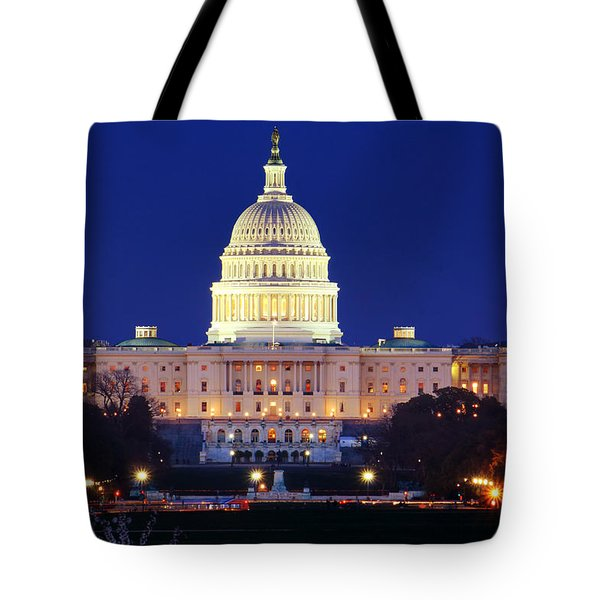 U.s. Capitol Tote Bag