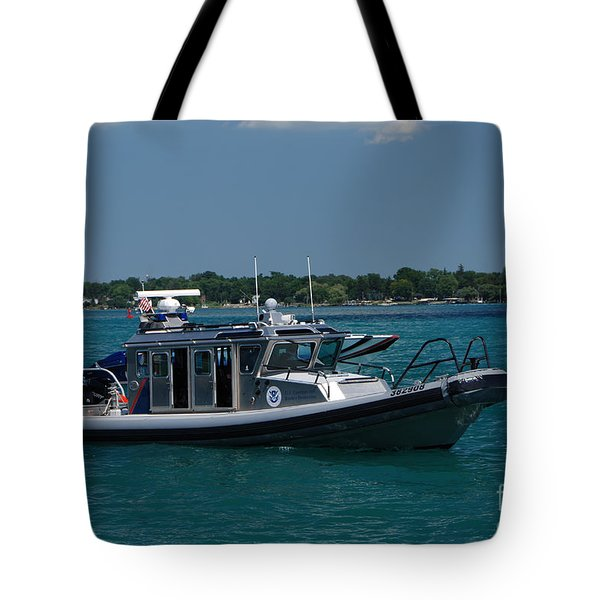 U.s. Customs Border Protection Tote Bag