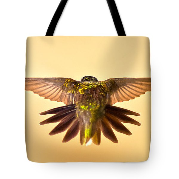 Tote Bag featuring the photograph Usaf Hummingbirds Wings by Randall Branham