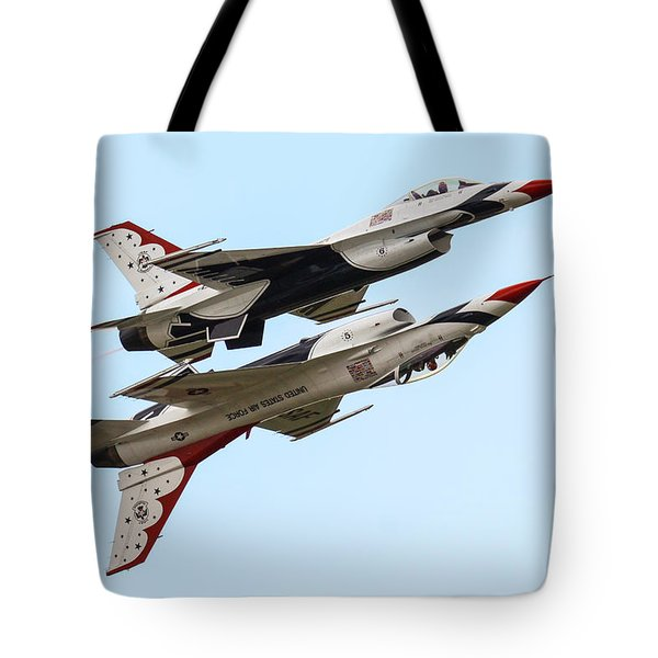 Usaf Thunderbirds Display Pair Tote Bag