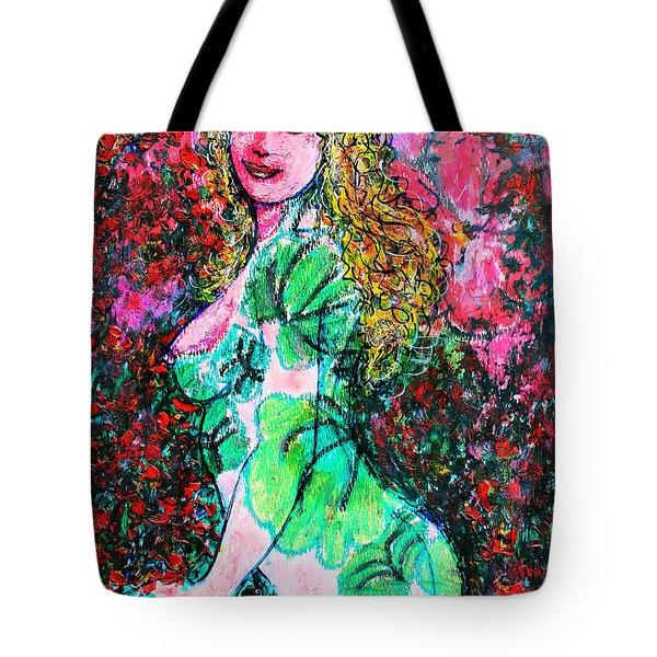 Valentina 2 Tote Bag by Natalie Holland