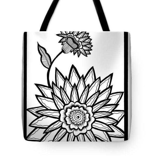 Valerie's Flower Tote Bag